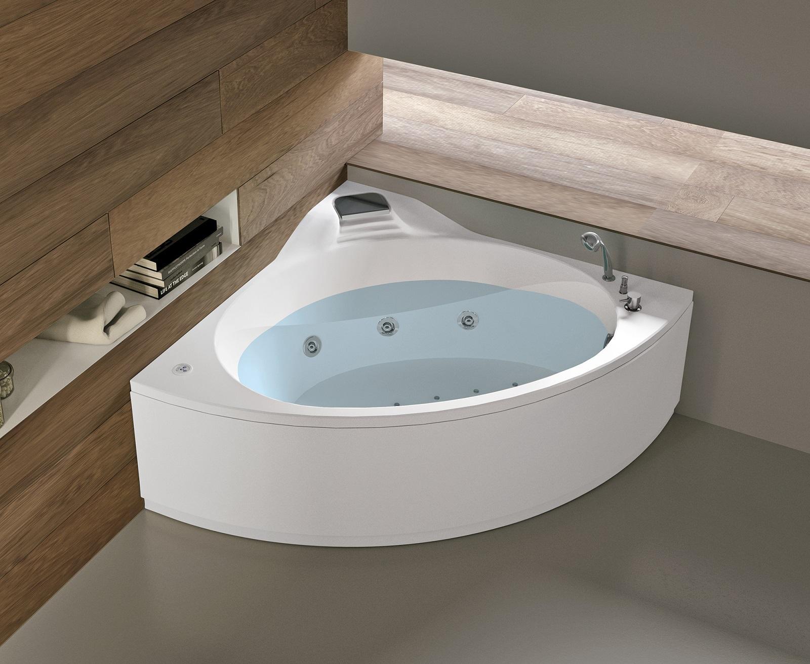 Vasca Da Bagno Con Sedile Integrato.Vasche Angolari Con Foto Misure E Prezzi Cose Di Casa