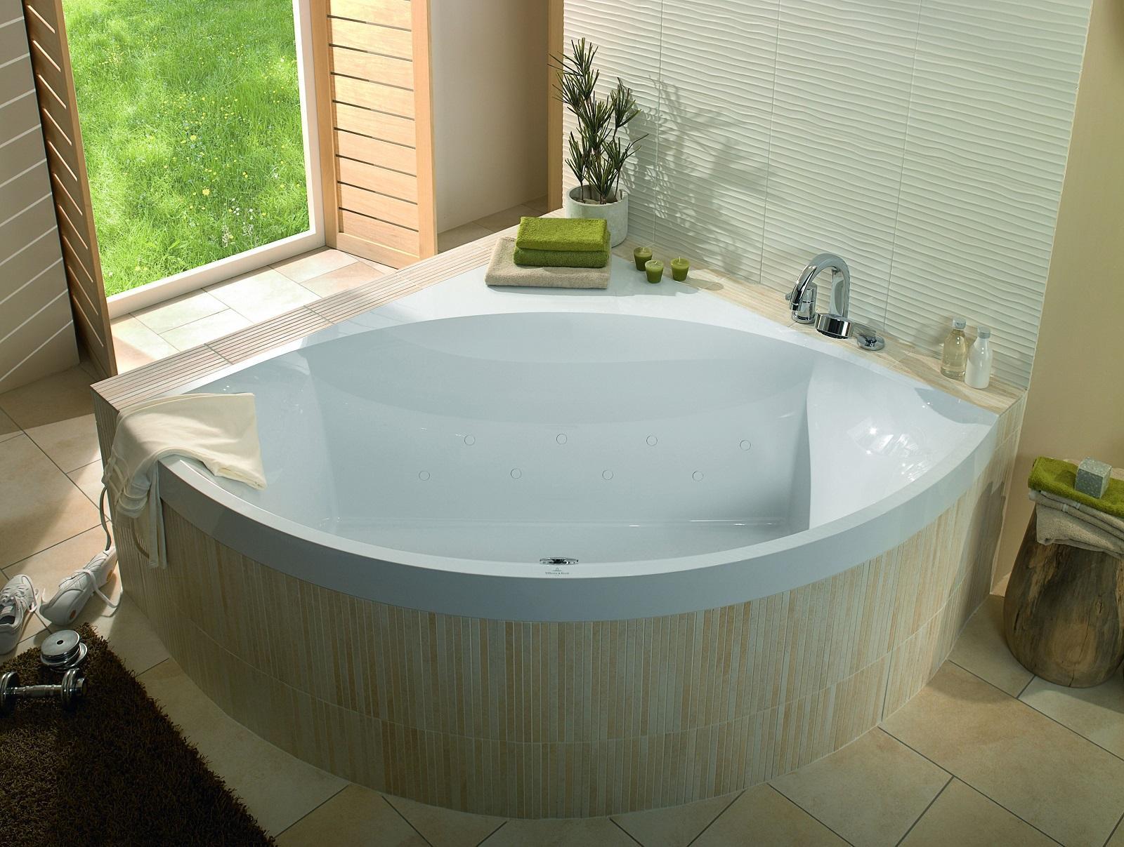 Vasche Idromassaggio Misure E Prezzi vasche angolari con foto, misure e prezzi - cose di casa