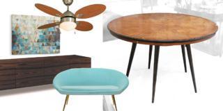 Come abbinare un tavolo anni '50 ad arredi moderni