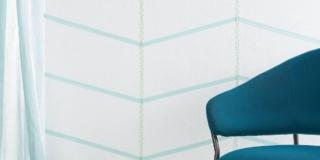 Decorare la parete con il washi tape