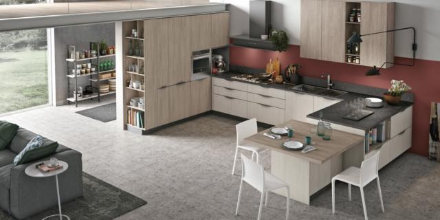 Cucine effetto legno moderne: buona resa estetica e prezzo inferiore