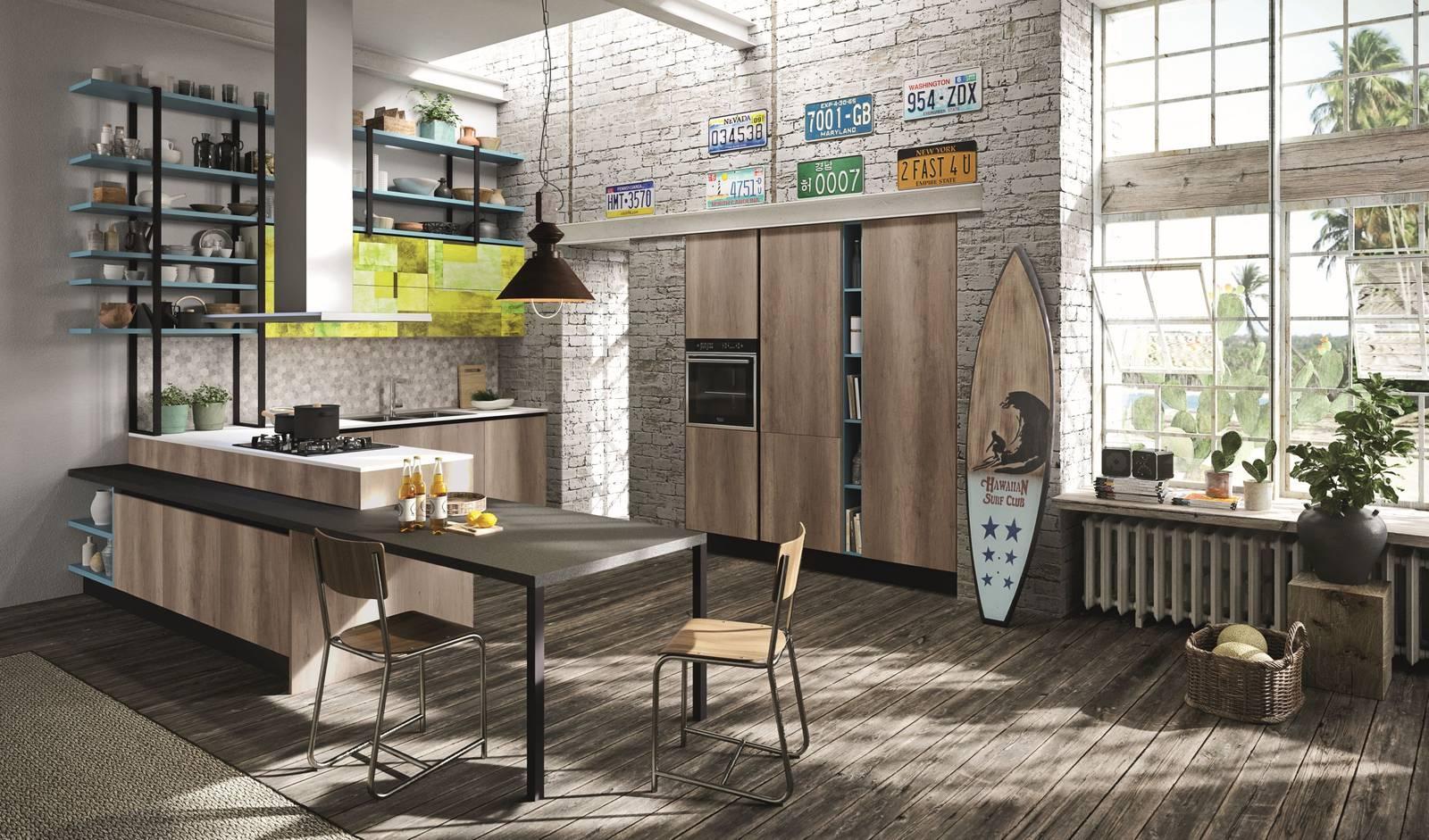 Cucine Effetto Legno Moderne Buona Resa Estetica E Prezzo Inferiore Cose Di Casa