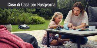 Husqvarna AUTOMOWER® oggi propone i robot anche per piccoli giardini