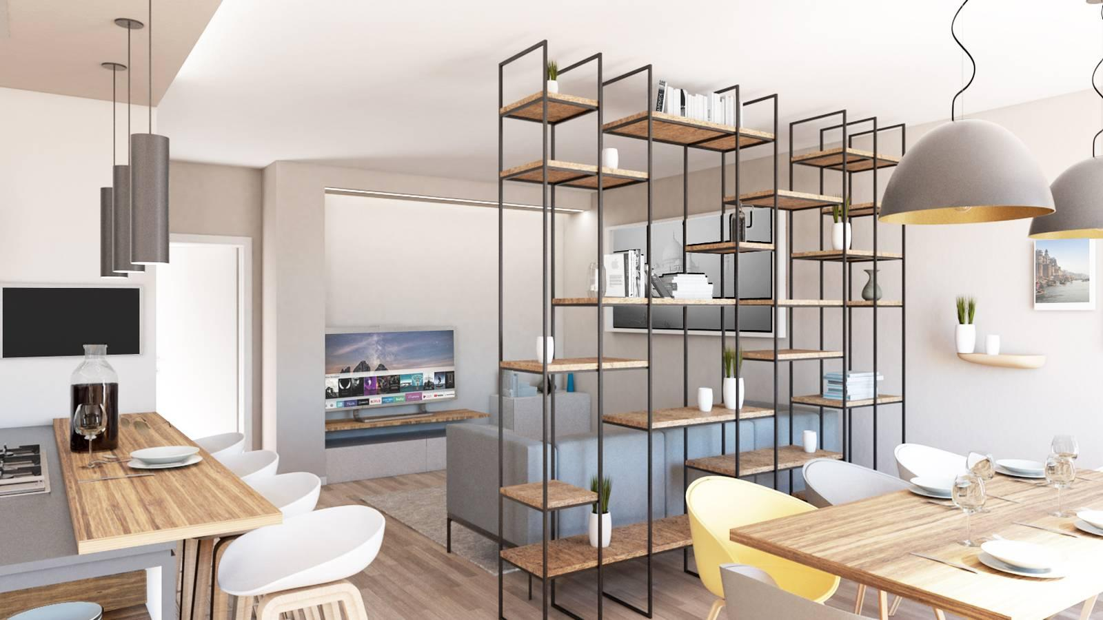 Open Space Come Arredare Soggiorno E Cucina Cose Di Casa