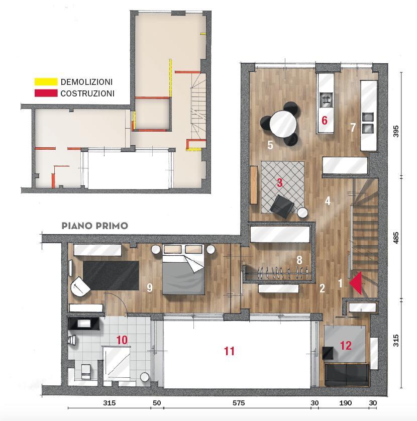 Casa Su Due Livelli 115 Mq Minimal E Contemporanei Cose Di Casa