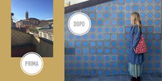 Finiture decor per balconi e terrazzini della casa di ringhiera