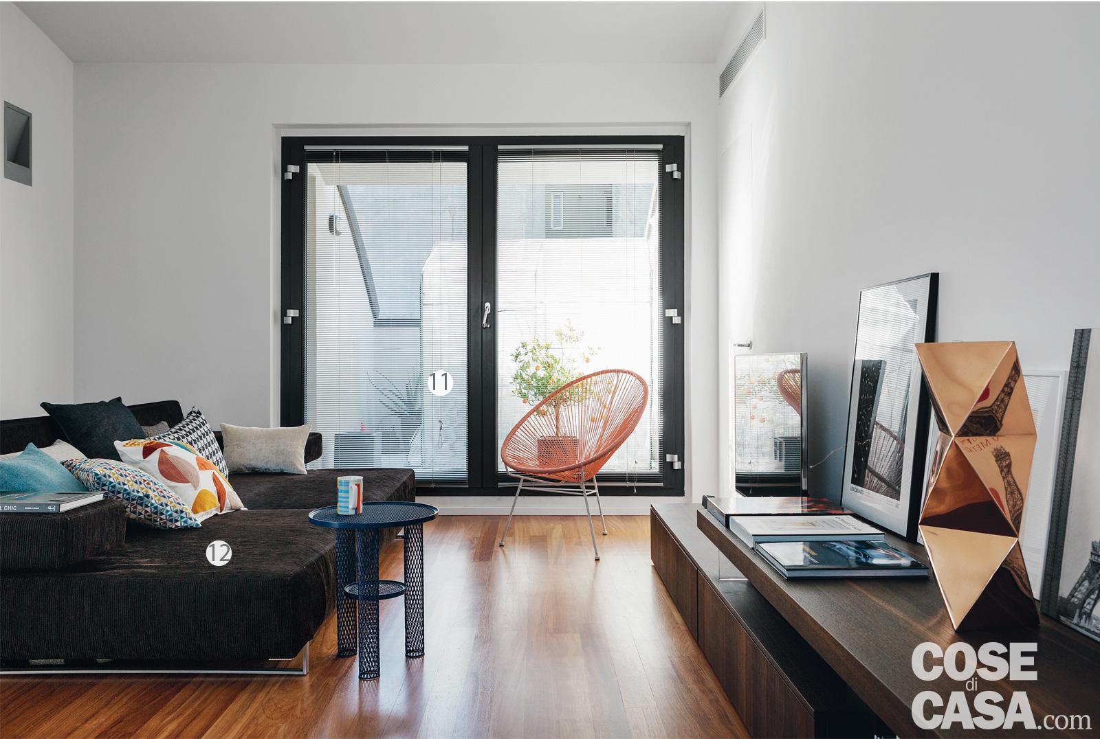 Stacco Tra Parquet E Piastrelle casa su due livelli, 115 mq minimal e contemporanei - cose