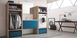 Come ricavare la lavanderia? Dove e con quali mobili ed elettrodomestici