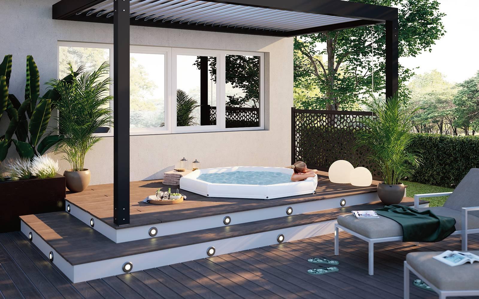 Bagno Esterno In Giardino arredi per l'esterno: rinnovare terrazzo e giardino - cose