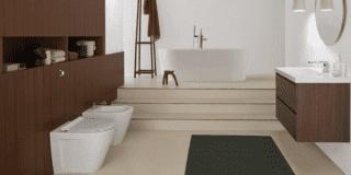 bagno con sanitari Norm di GSI