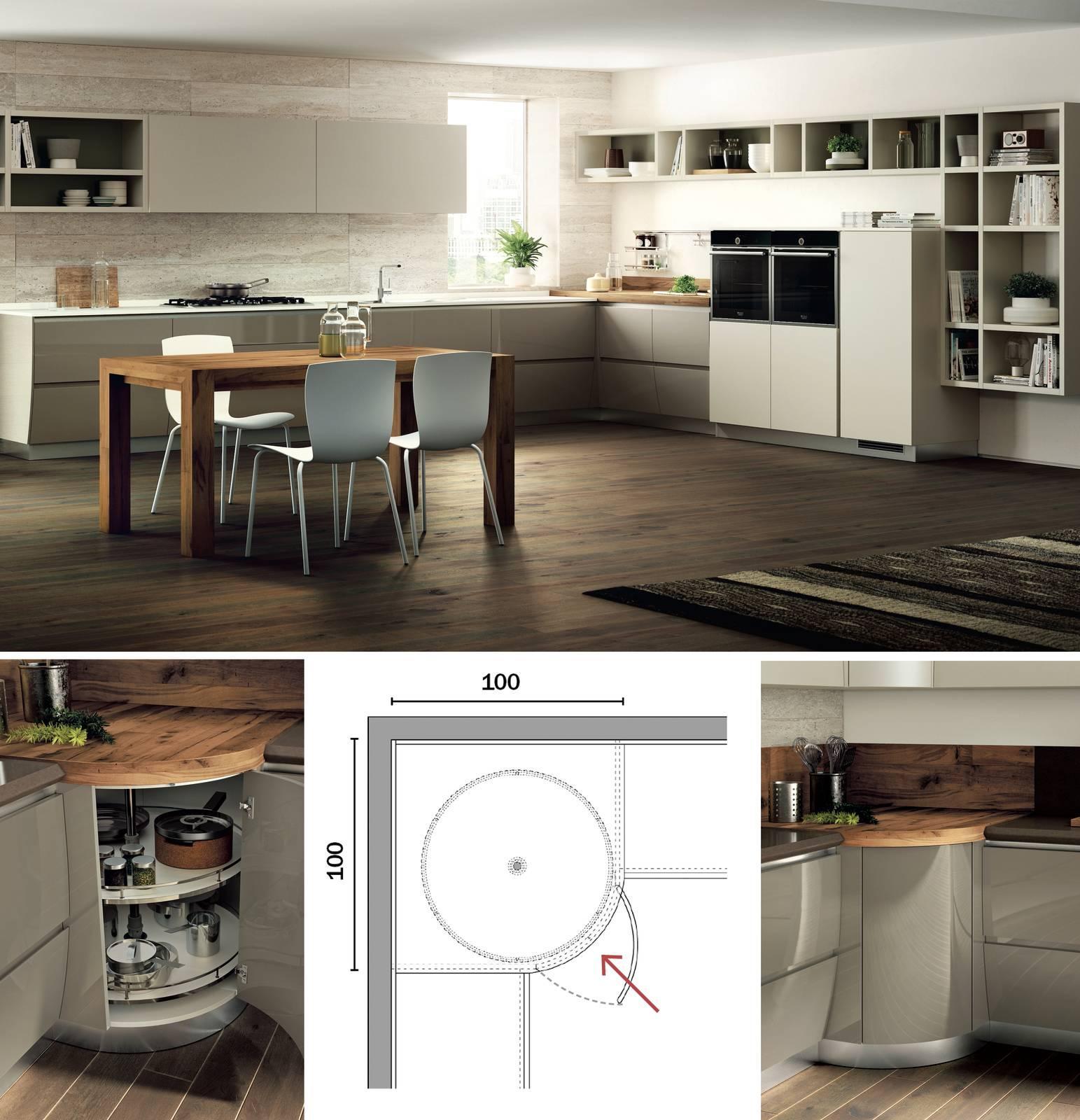 Immagini Cucine Ad Angolo cucine ad angolo ben sfruttate - cose di casa