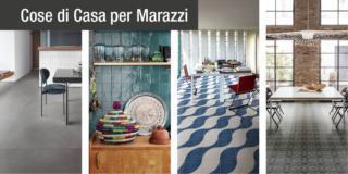Marazzi: colore, decori e sapore artigianale delle collezioni Crogiolo
