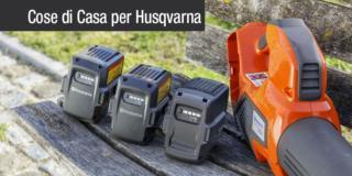 Prodotti a batteria Husqvarna, giardinaggio facile e silenzioso