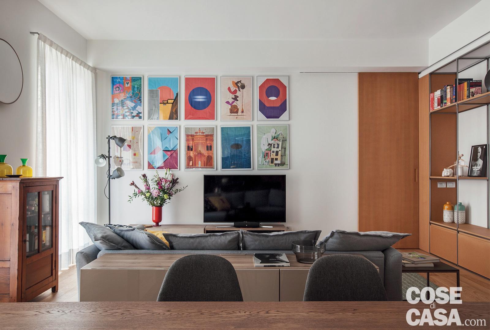 Appartamento Di 115 Mq Senza Corridoio Piu Spazio Al Soggiorno Open Space Cose Di Casa