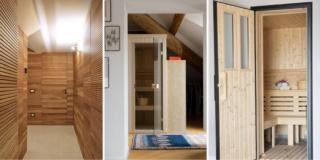 Sauna in casa, un sogno realizzabile. Tre esempi in tre tipologie diverse di appartamento