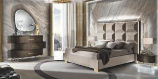 camera da letto molbilpiù incanto testata imponente