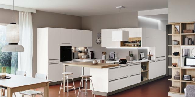 Cucina bianca, sempre attuale