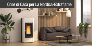 Innovazione tecnologica e design: le soluzioni per riscaldare la casa di La Nordica-Extraflame