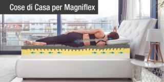 Il materasso di ultima generazione contro il mal di schiena, firmato Magniflex