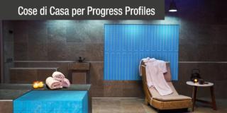 Soluzioni tecniche per il bagno personalizzabile e confortevole. Con Progress Profiles, flessibilità e innovazione