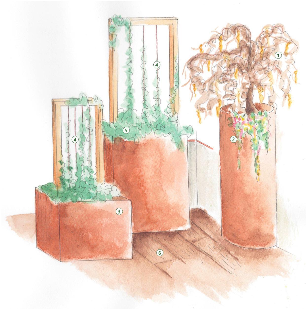 Arredare un terrazzo molto ampio - Cose di Casa