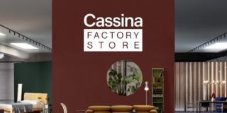 Vendita speciale fino all'8 novembre per il nuovo Cassina Factory Store