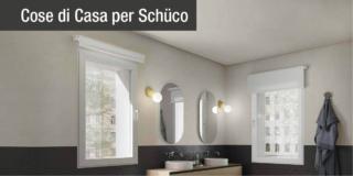 Finestra Schüco AWS 90 BS.SI+ TipTRonic SimplySmart e Finestra Schüco AWS 90 BS.SI+ (bagno)