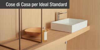 Abbinare lavabo, miscelatore e sanitari: ecco il bagno total look di Ideal Standard