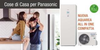 Aquarea All in One Compatta di Panasonic: quando l'efficienza incontra il risparmio
