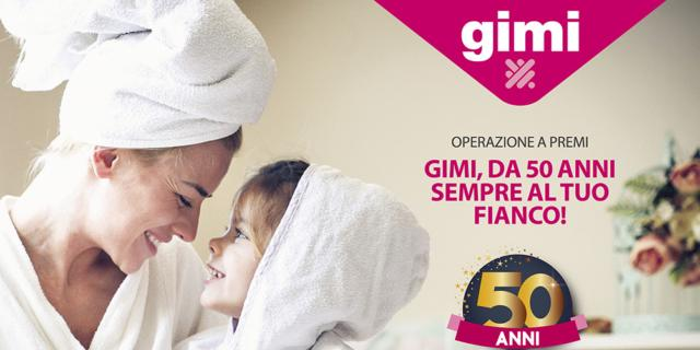 Per i suoi 50 anni, Gimi regala asciugamani Gabel