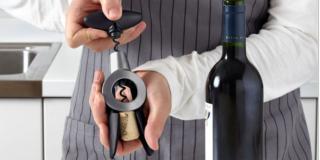 Cavatappi per aprire le bottiglie di vino