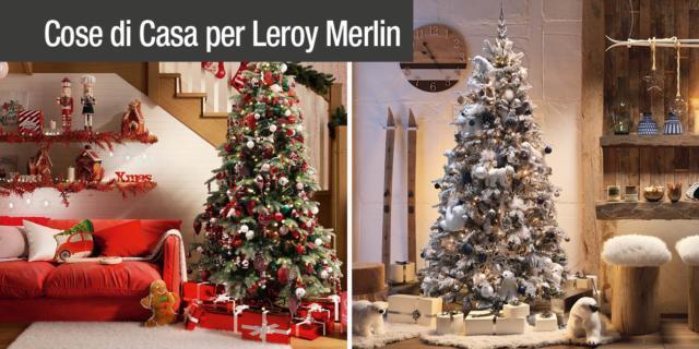 Addobbi Natalizi Leroy Merlin.Addobbare La Casa Per Le Feste In Attesa Del Natale Cose Di Casa