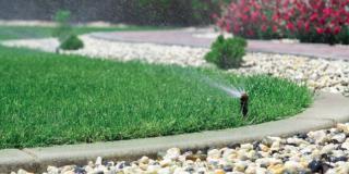 Impianto di irrigazione: ora si spegne e si pulisce