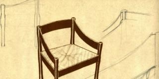 sedia Carimate disegno di Vico Magistretti