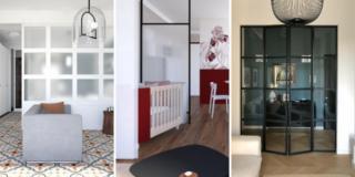 Vetrate per interni: soluzioni da copiare per dividere ambienti e fare bella la casa
