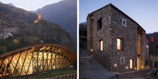Architetture montane progetto HabitA buone pratiche costruttive per le Alpi
