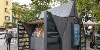 Sostenibile, sociale, polifunzionale: è l'edicola del futuro