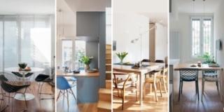 quale posizione del tavolo. 4 progetti casa