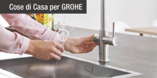 Acqua filtrata: un rubinetto 2in1 per averla naturale o frizzante
