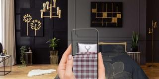 """""""Provare"""" la biancheria del letto con un'app che visualizza la tua stanza"""