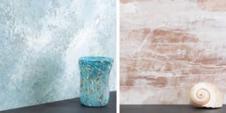 Dipingere pareti con effetto nuvolato e marmorizzato