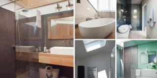 Il bagno nel sottotetto e con finestra? 5 esempi riusciti