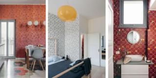 Mini appartamento di 50 mq con ristrutturazione décor