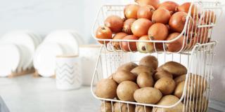 Conservare cipolle e patate appena raccolte