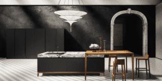 Piano in marmo vero per una cucina… al top