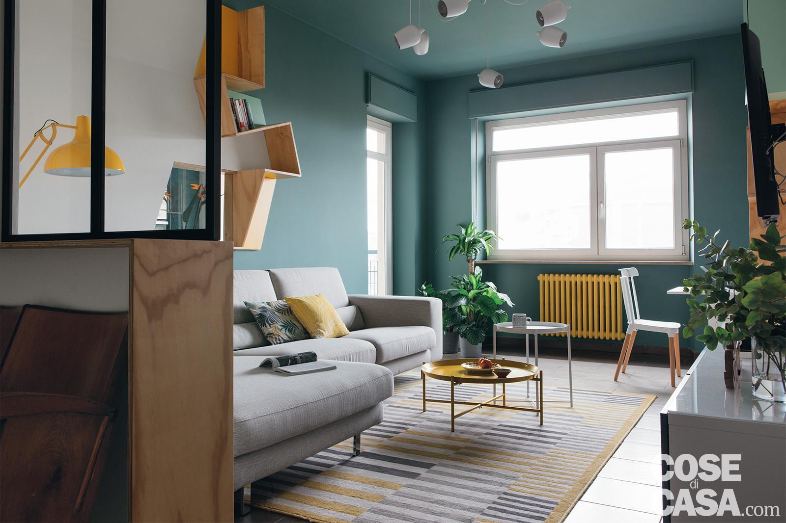 Bilocale Rinnovato 65 Mq Con Nuove Geometrie A Colori Cose Di Casa