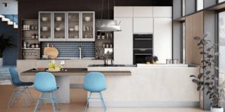Cucina con bancone: composizione dinamiche