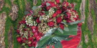 Il ventaglio fiorito per San Valentino