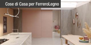 FerreroLegno: le porte vestono Iride, l'innovativa finitura ecosostenibile