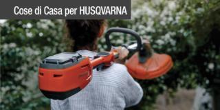 Macchine a batteria Husqvarna, la soluzione ideale per i lavori in giardino
